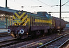 Typically the light is nearly gone when the really interesting stuff turns up! - GySEV M40 402 runs through Sopron with a single wagon load on 10 November 2006