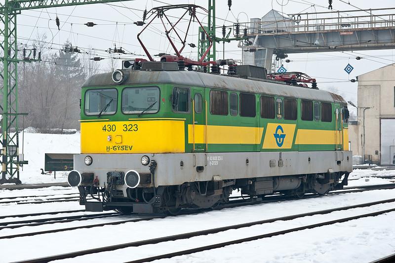 GySEV 430-323 Sopron 25 February 2013