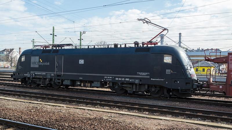 MRCE ES64 U2-063 20 March