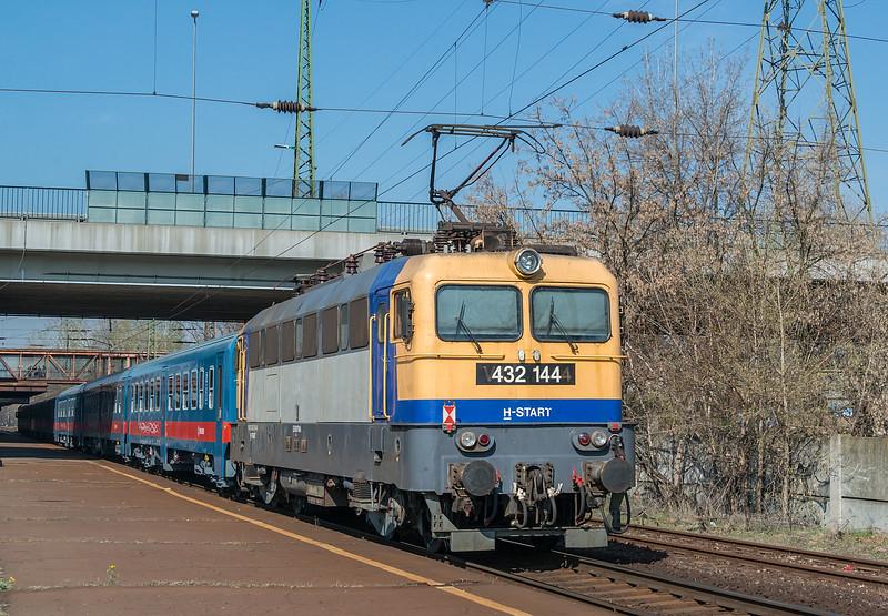 MAV 432-144 Kobanya-Kispest 22 March