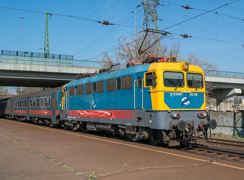 MAV 432-318 Kobanya-Kispest 22 March
