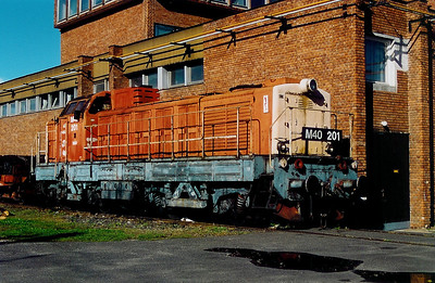 2) M40 201 at Szombathely Depot on 5th October 2003