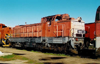 M40 233 at Szombathely Depot on 5th October 2003