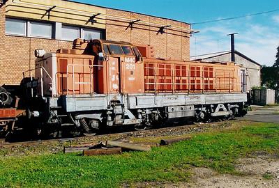 1) M40 201 at Szombathely Depot on 5th October 2003
