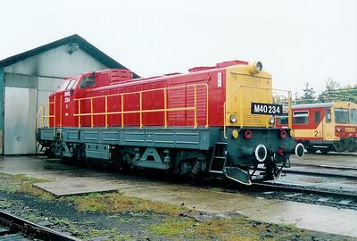M40 234 at Balassagyarmat Depot on 4th October 2003