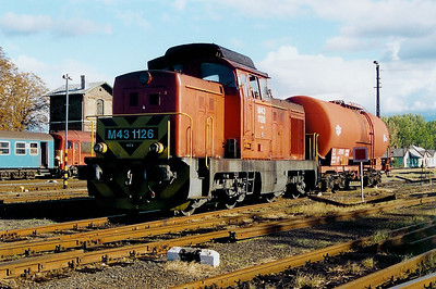 M43 1126 at Tapolca Depot on 8th October 2003