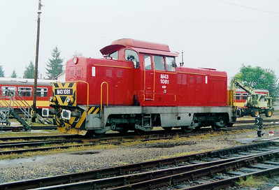 M43 1081 at Balassagyarmat Depot on 4th October 2003