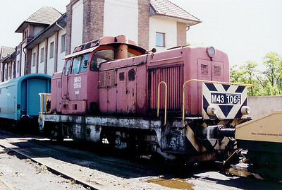 M43 1066 at Gyor Depot on 15th May 2002