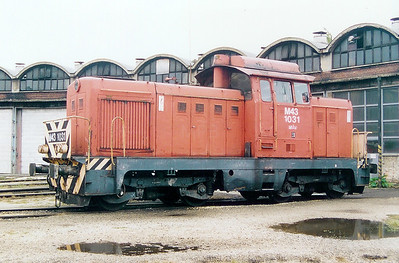 1) M43 1031 at Szekesfehervar Depot on 8th October 2003