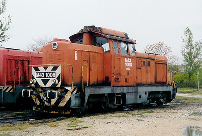M43 1008 at Szekesfehervar Depot on 8th October 2003