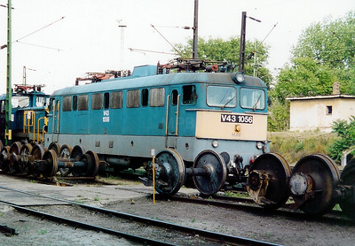 V43 1056 at Ferencvaros Depot on 16th May 2002