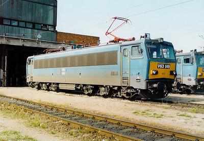 V63 049 at Ferencvaros Depot on 16th May 2002