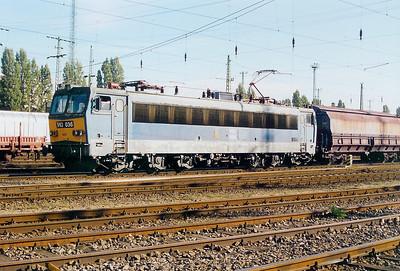 V63 036 at Ferencvaros Yard on 7th October 2003