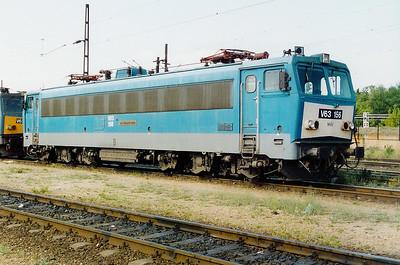 V63 156 at Ferencvaros Depot on 16th May 2002
