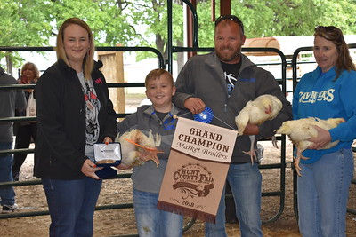 Hunt County Fair 2018: Market Broilers