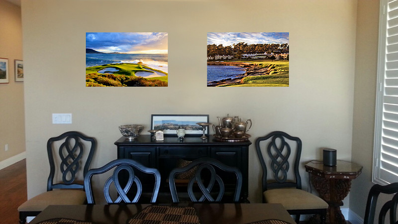 Seventh at Sunset and Pebble Beach Sunset