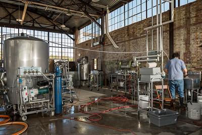 Hunter-Gatherer Brewery at the Curtiss-Wright Hangar