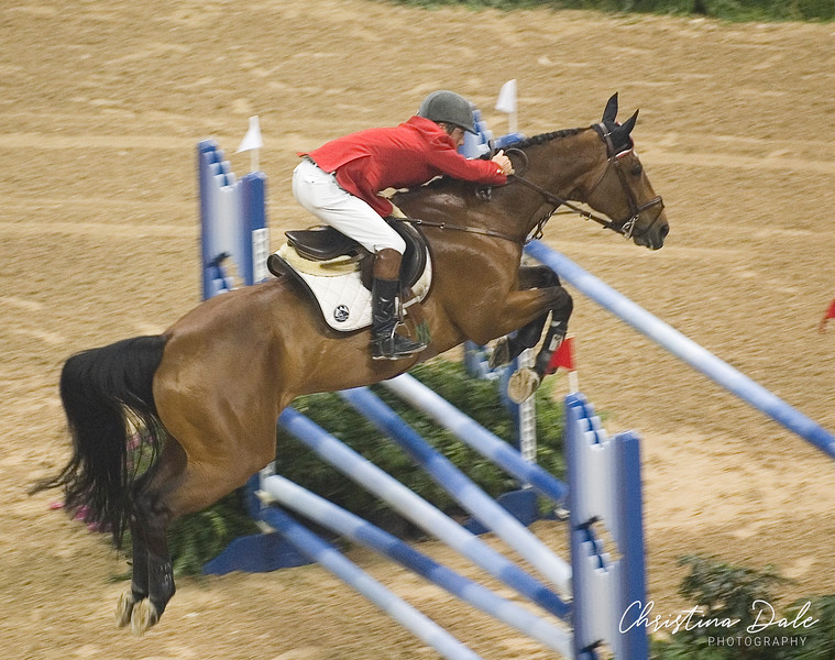 John Pearce of Canada on Urioso at the FEI World Cup 2007 in Las Vegas
