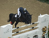 Allison Kroff of the USA on Nomograaf at the 2007 FEI World Cup in Las Vegas.