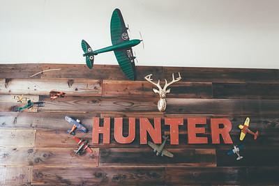 Hunter 1st Birthday Pro