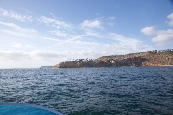 Huntignton to Morro Bay on a Boat in the Spring.