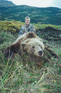 Hunting allows a person to escape from the daily routines and spending time in the field is a tradition with many of us. Jack Nicklaus, Jr. is pictured here with his Alaska Brown Bear taken while hunting Alaska at Bear Lake with Guide Don Anderson. I think it was an uphill shot and the scope hit Jack in the forehead. I am sure this photo brings back memories of the event as well. Hunts are offered exclusively through Anderson Taxidermy & Guide Service, Inc. Contact Don Anderson to inquire about booking your hunt for the new year ahead. www.thehuntpro.com