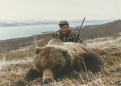 Al Cito of New York is pictured here with his Alaska Brown Bear and Bear Lake in the background. This was a Spring Season hunt and Al was guided by Don Anderson. Hunts are offered exclusively through Anderson Taxidermy & Guide Service, Inc. Contact Don Anderson to inquire about booking your hunt for the new year ahead. www.thehuntpro.com