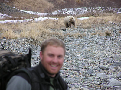 Andrew and Lone Bear