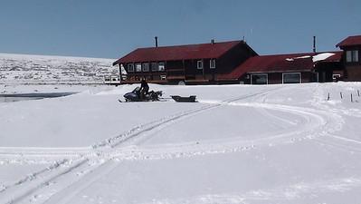 Skidoo Around Bear Lake Lodge 2012