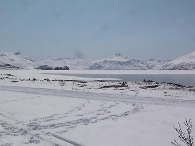 Bear Lake Thawing Johnson's Landing
