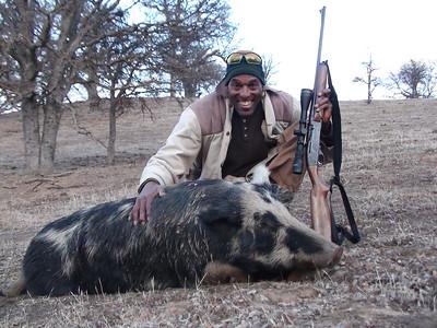 2014 Boar Hunt - Rudy Leon