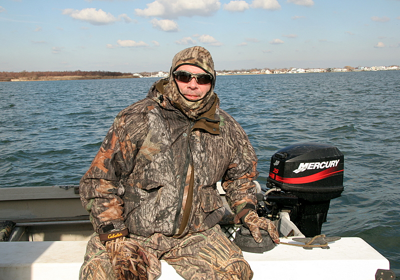 Here is Craig Georgi my sharing the day with the regular crew.  Craig had a good time and it was excellent all being together.  Craig was the main instigator to get the Arkansas hunt together and we shared some great days this season hunting down south and locally.  Craig and I will hook up and do some fishing in Florida.  Craig mates on fishing boats out of Ismorada in the Keys during the winter.<br /> <br /> It was a fun gunning season and now I am looking forward to a little time in Florida and then getting going with another spring bass season.<br /> <br /> If you want to fish this spring then get in touch and set up a date.  The prime time is getting booked pretty well already.  I look forward to a great spring run like last year. <br /> <br /> Happy times to all who love the outdoors.<br /> <br /> Captain Al Lorenzetti