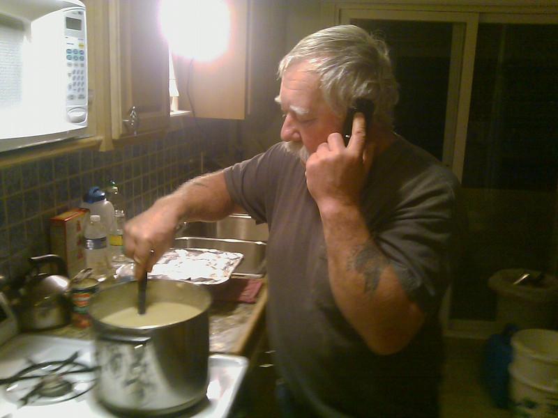 Pete Cooking up something good