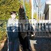 Devon Bagley of Hurleyville hauled in this 110-pound bear in Hurleyville.