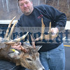 Randy Young won the 2012 Democrat Big Buck Contest with this 9-pointer that measured 79.5 in the Democrat measuring system. Randy received $150 for winning the Biggest Rack contest, as well as a free mount courtesy of Rod's Taxidermy in Callicoon.