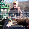 Doug Dirie shot this 8-pointer in Callicoon on November 17. It weighed 120 pounds and scored a 56.75.