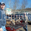 Mike Wingert bagged this 6-pointer (left) in Callicoon Center on November 17. It weighed 171 pounds and measured a total 59.5. Amber Wingert shot the 7-pointer (right) on November 17 in Callicoon Center. It weighed 125 pounds and measured a total 57.25 according to our scoring system.