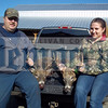 George Slater shot this 8-pointer (left) on November 17 in Kenoza Lake. It weighed 140 pounds and measured a total of 54. His daughter, Kailin, took this 8-pointer (right) in Kenoza Lake on November 17. it measured a total 53 in our scoring system.