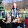 Fred Likel took this 7-pointer in the Town of Callicoon. It weighed 132 pounds and measured a 51.75 in the Democrat contest.