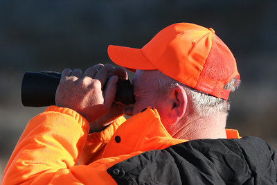 Chuck Chordes of Layton hunting near Hardware Ranch. Photo by Phil Douglass