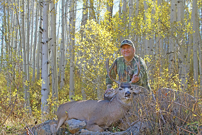 Scott Root on the muzzleloader deer hunt