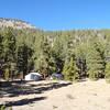 Camp at 10,500 feet