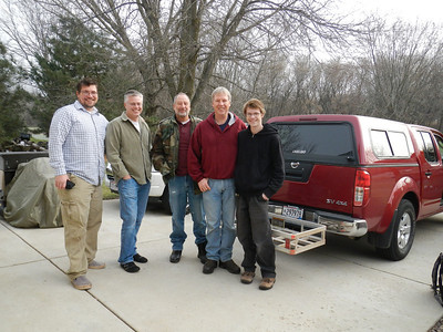 The crew for 2012. We had the pleasure of having Jason and Jacob join us this year.