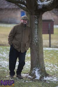 ELBH Ingham meet in the snow.
