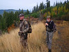 Ben and Dad on our last morning hunt.