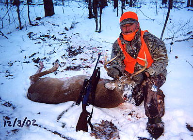 Wayne's '02 buck - Tioga County