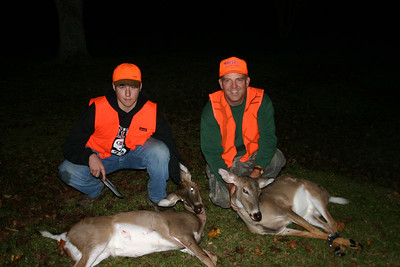 2003 - Nephew Chris' first deer - James takes another doe - Ouachita County, Arkansas