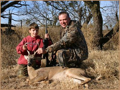 January 2006 - Aaron's First Buck - Salt Fork Ranch near Aspermont, Texas