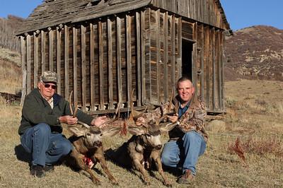 2008 Muledeer Hunt with my Dad in Utah.  We both killed deer on the last night during the last hour of the hunt.