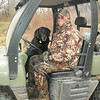 Brandon and Buddy in the Ranger